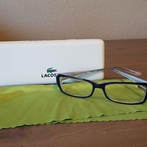 Lacoste eye glasses